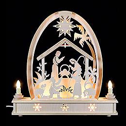 Seidel Arch Crib  -  36cm x 37cm / 14 x 15 inches