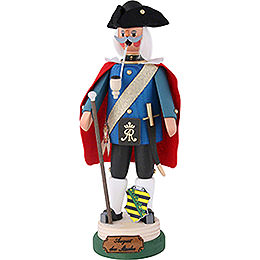 Smoker  -  Augustus the Strong  -  27cm / 10.6 inch