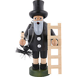 Smoker Chimney sweeper with ladder  -  18cm / 7 inch