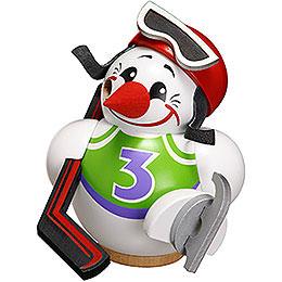 Smoker  -  Cool - Man Hockey Player  -  12cm / 5 inch