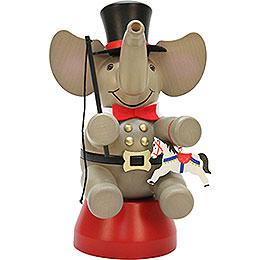 Smoker Elephant Ringmaster  -  22cm / 8.7inch