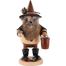 Smoker  -  Forest Gnome Ore Gatherer, Natural  -  25cm / 9.8 inch