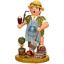 Smoker Gardener man  -  21cm / 8inch