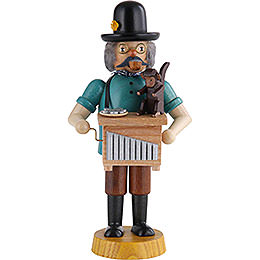 Smoker Hand organ player  -  18cm / 7 inch