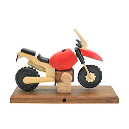 Smoker Motorcycle Boxer GS red 27 x 18 x 8cm / 11 x 7 x 3 inch