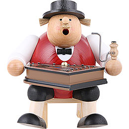 Smoker  -  Musician with Zither  -  16cm / 6 inch