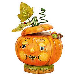 Smoker Pumpkin orange  -  12cm / 5inch