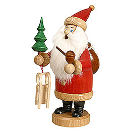 Smoker Santa Claus  -  red  -  26cm / 10 inches