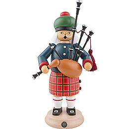 Smoker  -  Scotsman with Bagpipe  -  27cm / 11 inch