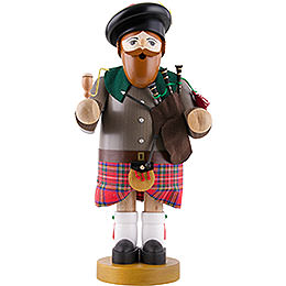 Smoker  -  Scotsman with Red Skirt  -  34cm / 13 inch