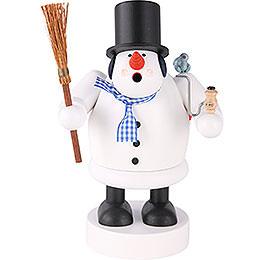 Smoker Snowman  -  20cm / 8 inch