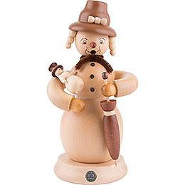 Smoker Snowwoman  -  23cm / 9 inch