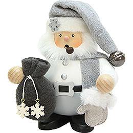 Smoker Weihnachtsmann grey  -  15cm / 6inch
