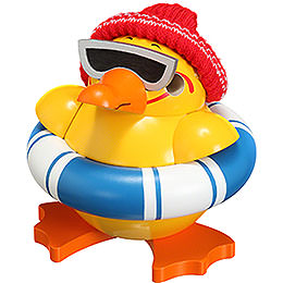 Smoker ball figure duck  -  11cm / 4.3inch