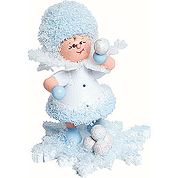 Snowflake snowball fight  -  5cm / 2inch