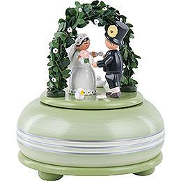 Spieldose Hochzeitsfest  -  15cm
