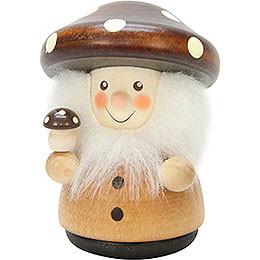 Teeter Man Mushroom Man Natural  -  7,8cm / 3.1 inch