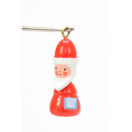 Tree Ornament  -  Santa  -  1,4x3,0cm / 1x1 inch