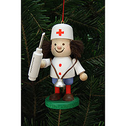 Tree Ornaments Thug Doctor  -  10cm / 4 inch