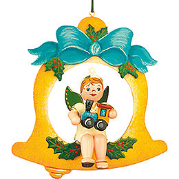 Tree ornament Angel - Bell - Train 10cm / 4inch