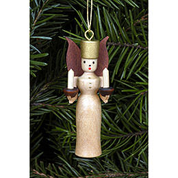 Tree ornament Angel natural colors  -  5,5cm / 2 inch