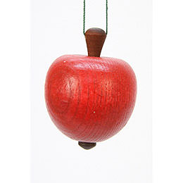 Tree ornament Apple   -  4,0 / 5,3cm  -  2 x 2 inch