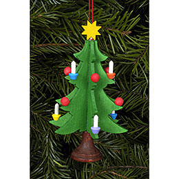 Tree ornament Christmastree  -  5,0 x 9,8cm / 2 x 4 inch