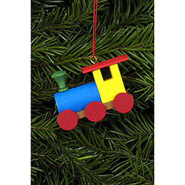 Tree ornament Engine  -  5,2 x 3,8cm / 2 x 2 inch
