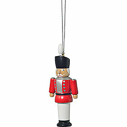 "Tree ornament ""Nutcracker red""  -  8cm / 3.1inch"