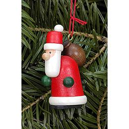 Tree ornament Santa Claus red  -  2,2 x 4,8cm / 0.9 x 1.9inch