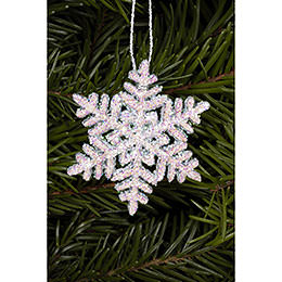 Tree ornament Snowflakes   -  4,5 x 4,5cm / 2 x 2 inch