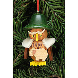 Tree ornament owl shepherd  -  3,2x5,9cm / 1.2x2.3inch