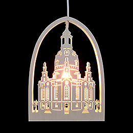 Window Picture  -  Church of Our Lady, Dresden  -  21,5x29,5cm / 2 inch