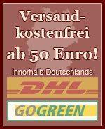 Versandkostenfrei ab 50 Euro innerhalb Deutschlands